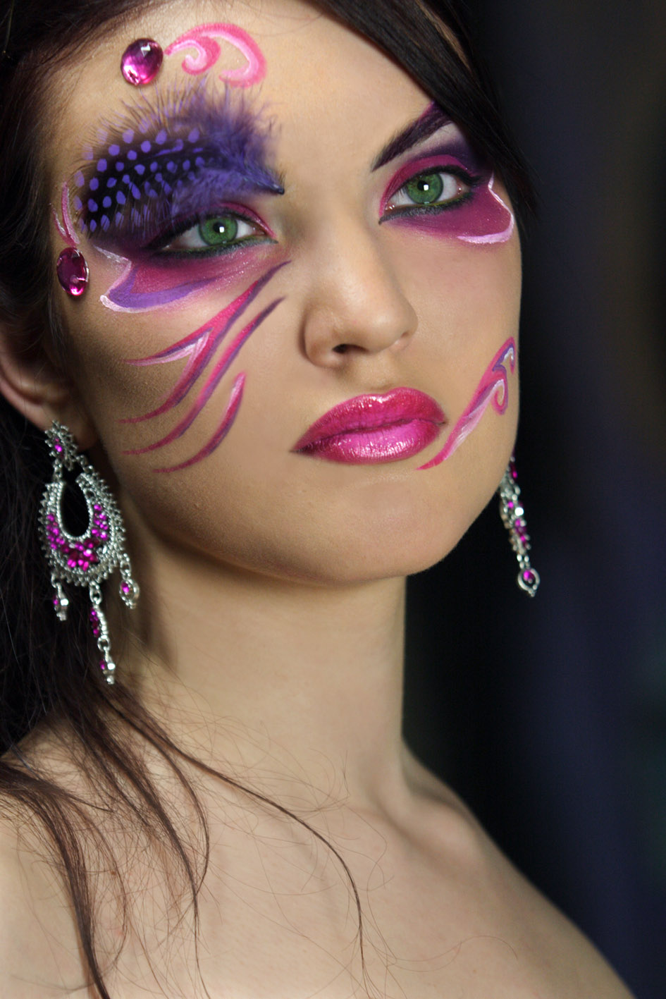 Maquillage carnaval femme facile - Maquillage horreur facile ...